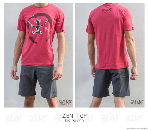 Zen Tee Shirt (Female & Male Design)