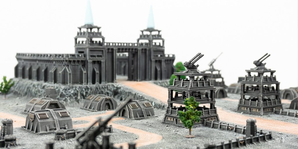 Our 6mm – 8mm Diorama
