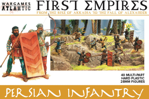 "First Empires ""Persian Infantry"" BASE-Bundle Wargames Atlantic 