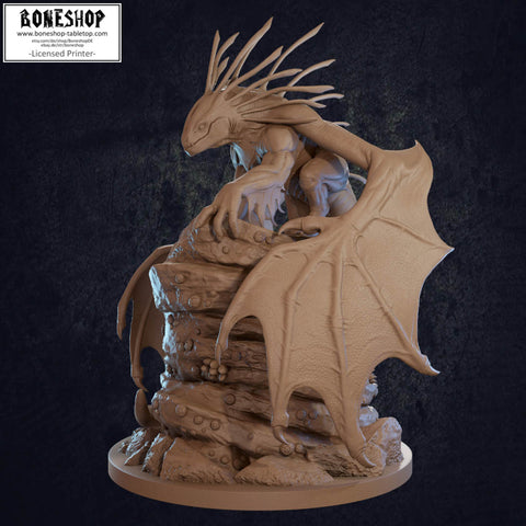 Coastal Quillback Tabletop RPG Miniature Dragon Trappers Lodge