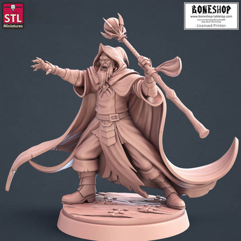 "Darkwizard ""Darkwizard"" Stl Miniatures 