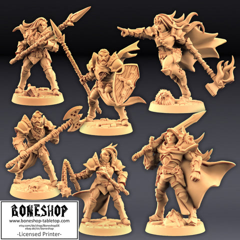 "Human Fighters Guild ""Soldier Bundle"" Artisan Guild 