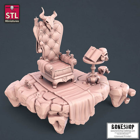 "Witch ""Chair"" Stl Miniatures 