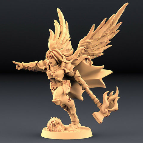 "Human Fighters Guild ""Morgana - 1 (Wings)"" Artisan Guild 