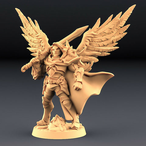 "Human Fighters Guild ""Sigfrido - 1 (Wings)"" Artisan Guild 