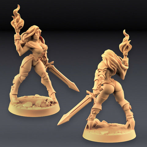"Human Fighters Guild ""Elena (v2)"" Artisan Guild 
