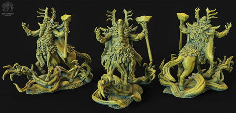 "Wrath of the Wild ""Centaur male Druid"" Bestiarum Miniatures 