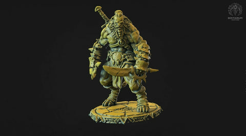 "Wrath of the Wild ""Leonin male -1"" Bestiarum Miniatures 