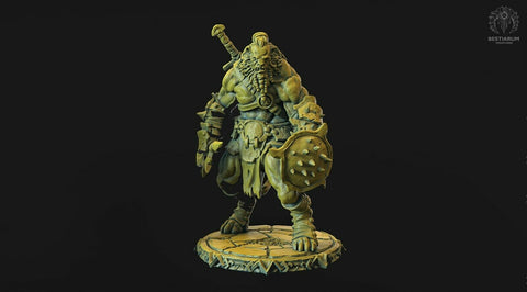 "Wrath of the Wild ""Leonin male -2"" Bestiarum Miniatures 