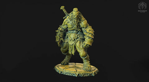 "Wrath of the Wild ""Leonin male -3"" Bestiarum Miniatures 