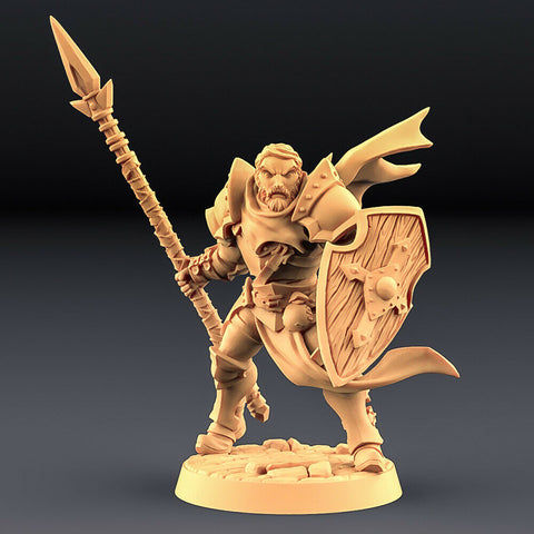 "Human Fighters Guild ""Soldier Head - A"" Artisan Guild 