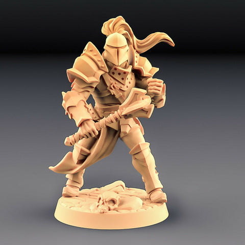 "Human Fighters Guild ""Soldier Helmet - B"" Artisan Guild 