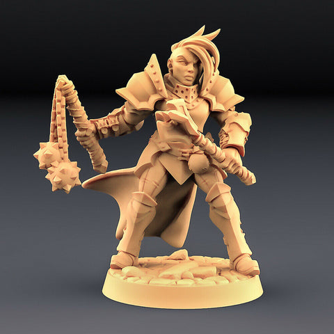 "Human Fighters Guild ""Soldier Head - C"" Artisan Guild 