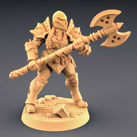 "Human Fighters Guild ""Soldier Helmet - D"" Artisan Guild 