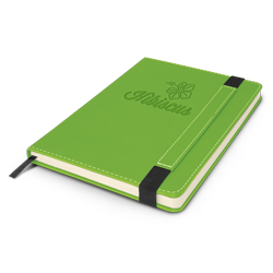 Notebook with a Debossed front cover