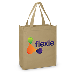 tote bage with a digital thermal transfer on front