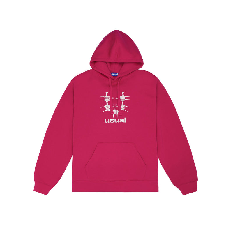 Usual - About Hoodie Pink