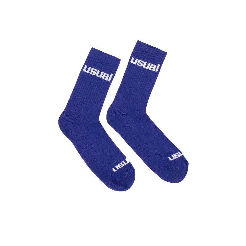 Usual - Logo Socks Royal Blue