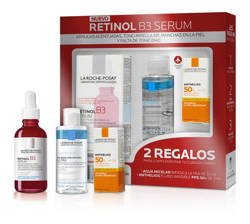 KIT SERUM RETINOL B3 LA ROCHE POSSAY + REGALO
