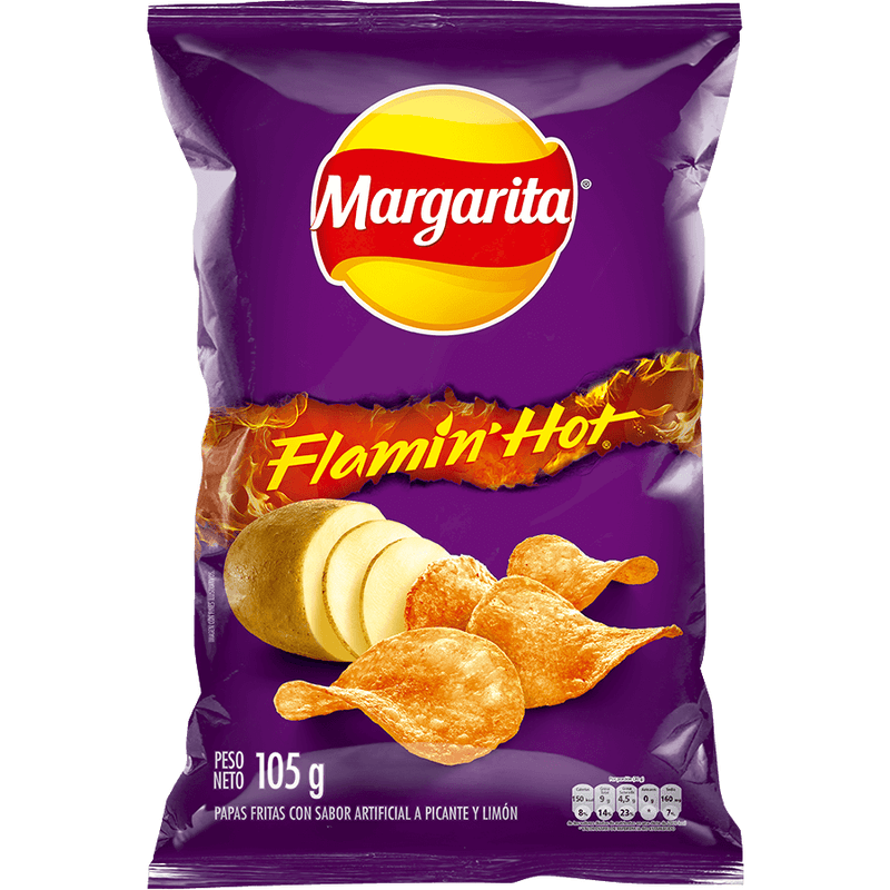 MARGARITA FLAMIN HOT105 g