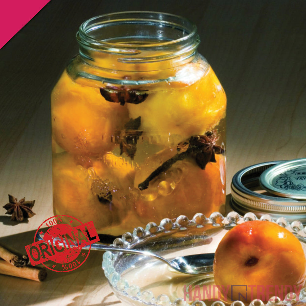 Leifheit Preserving Glass Jar
