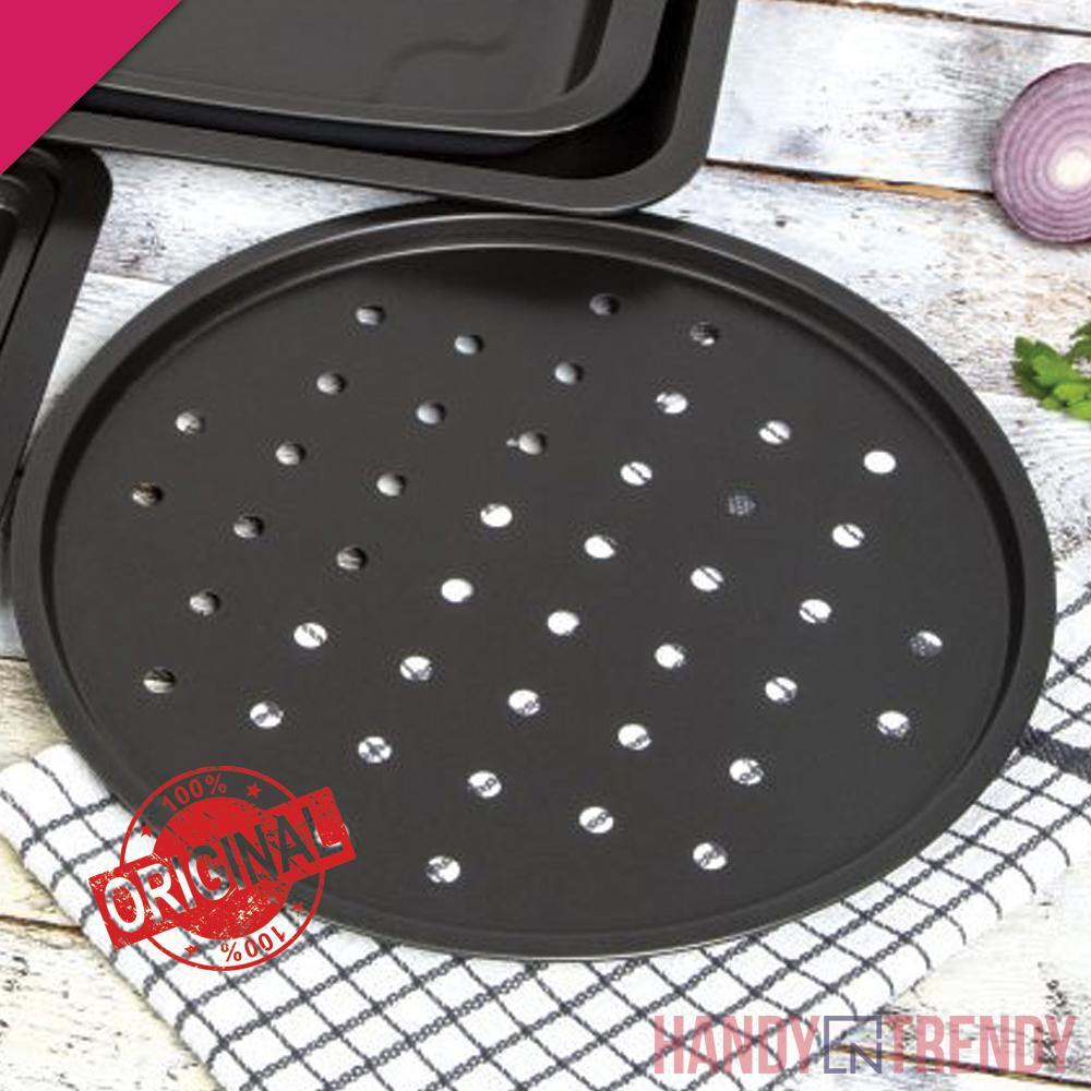 wham 12 inches pizza tray, non stick pizza tray, whatmore baking tools pakistan, handyntrendy