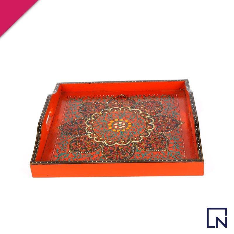 Handmade Wooden Tray - Medium - HandynTrendy Shop