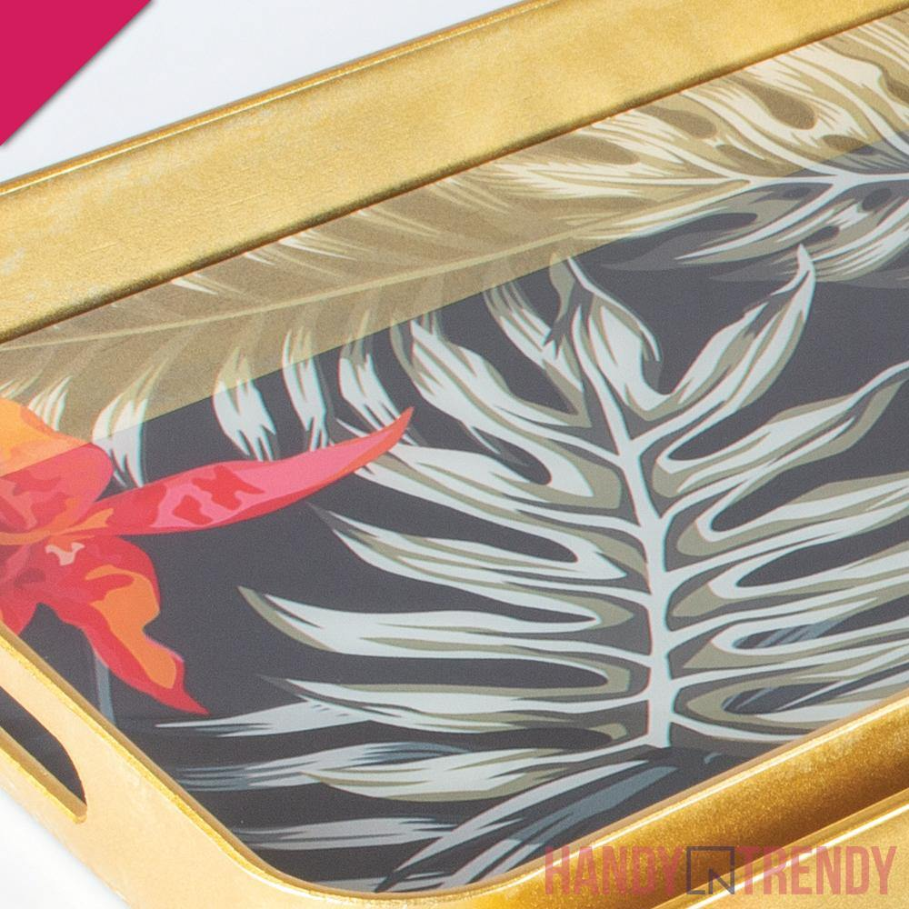 2pcs Tropical Serving Tray Set - HandynTrendy Shop