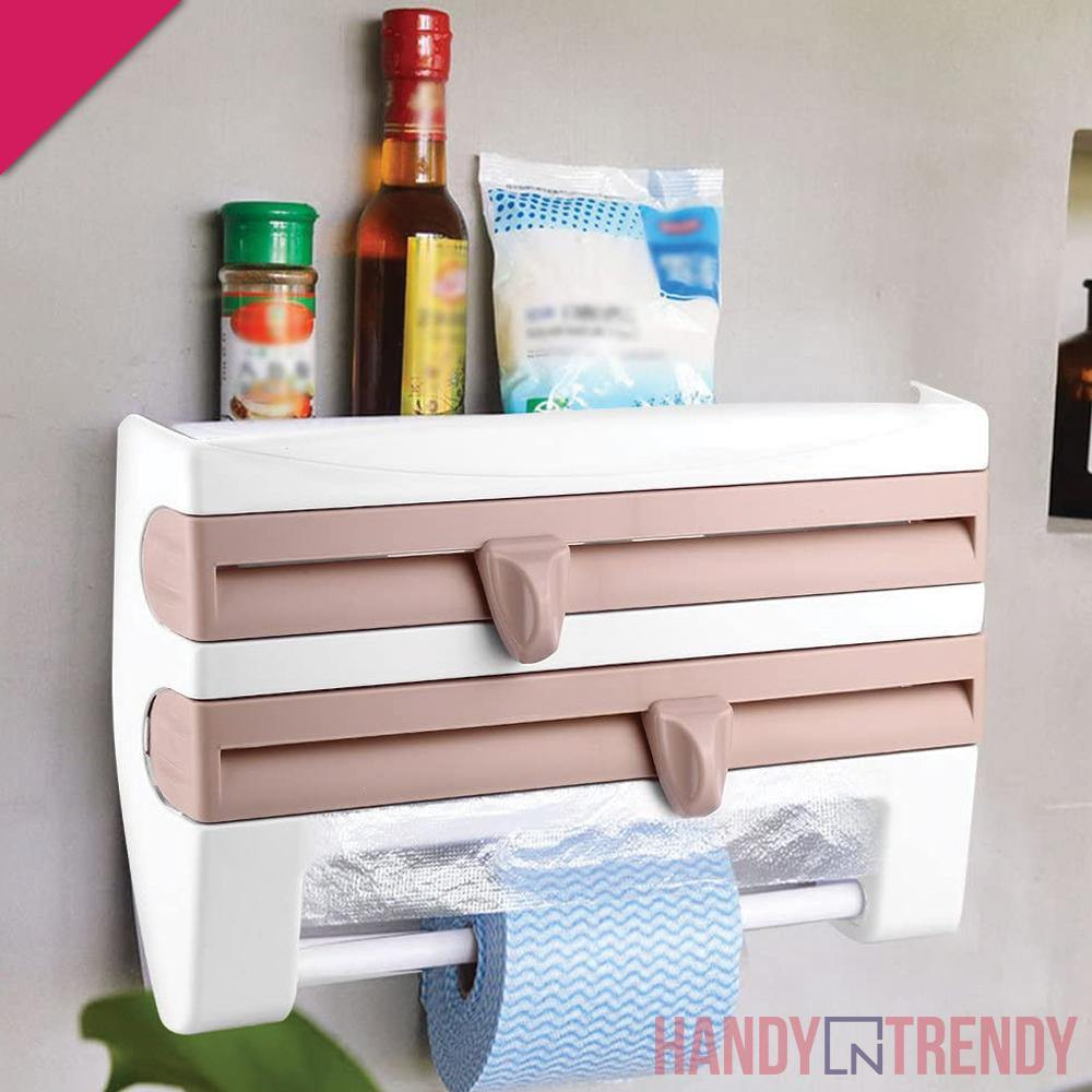 3in1 Cling Film Cutter - HandynTrendy Shop