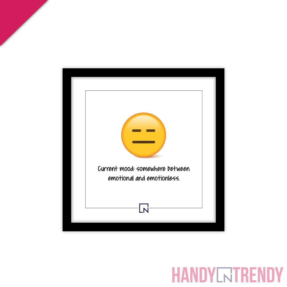 Wall Frame - Current Mood - HandynTrendy Shop