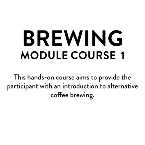 Brewing Module 1 Course