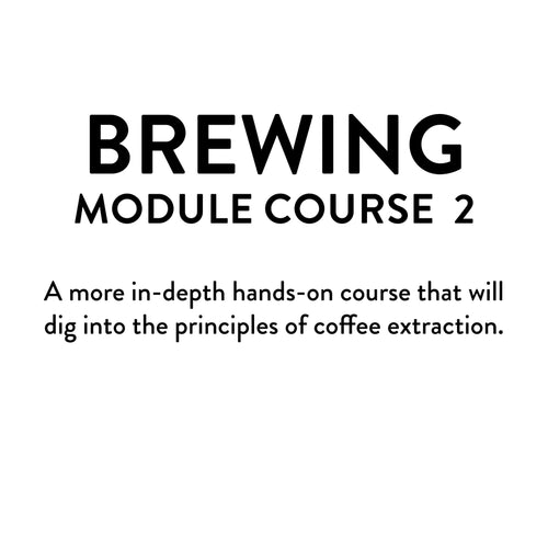 Brewing Module 2 Course