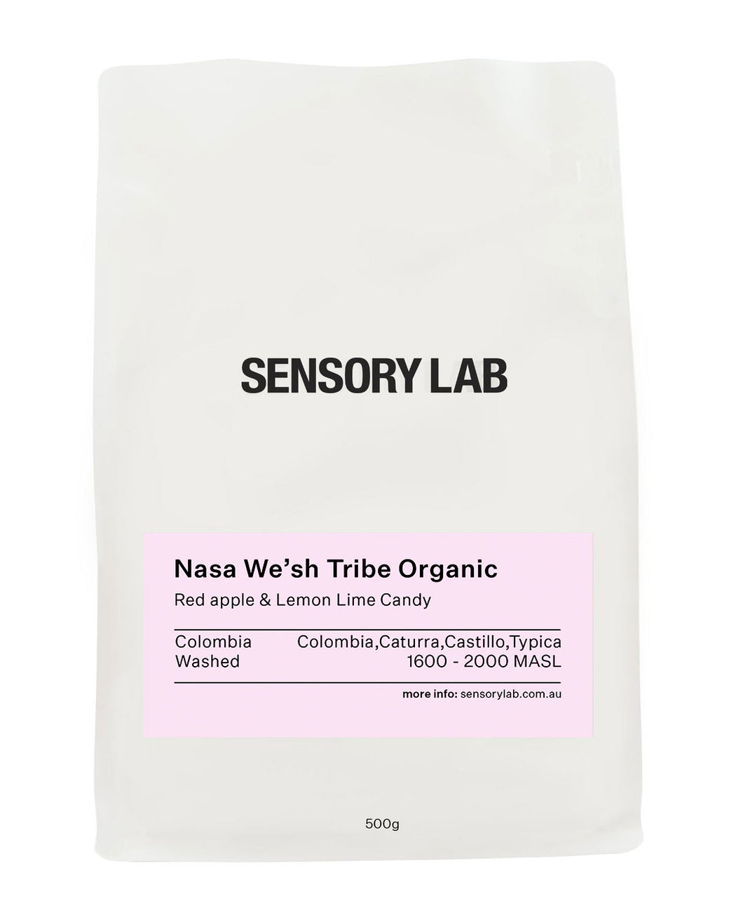 Single Origin Nasa We'sh Tribe Organic