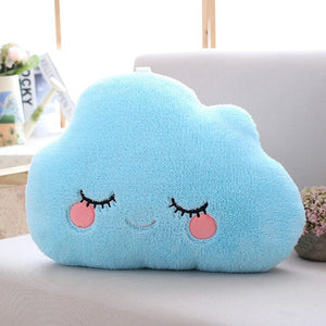 Sky series - Cloud Pillow - Blue