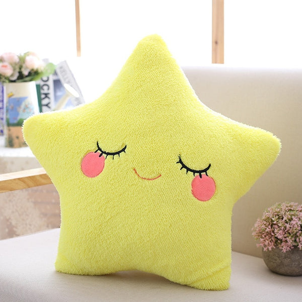Sky series - Star Pillow - Yellow