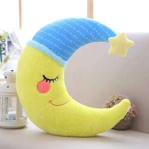 Sky series - Moon Pillow - Yellow
