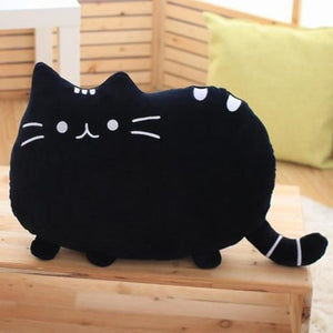 Cat Pillow - Black