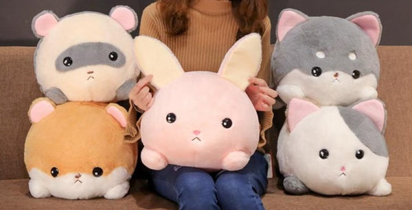 Blob Animal Pillows - Rabbit