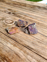 "Load image into Gallery viewer, 2 Chalcopyrite Rainbow Colors - 1 to 3"" length"