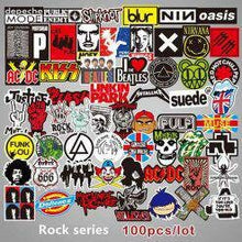 Load image into Gallery viewer, 100 Rock and Roll Stickers - Waterproof- No Duplicates