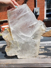 Load image into Gallery viewer, Selenite Slab - XXL Selenite Crystal - Natural Selenite- 9lb Selenite
