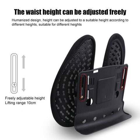Office Back Lumbar Support Adjustable Height