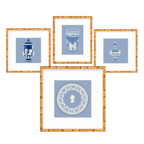 Wedgewood Blue Art Print Collection
