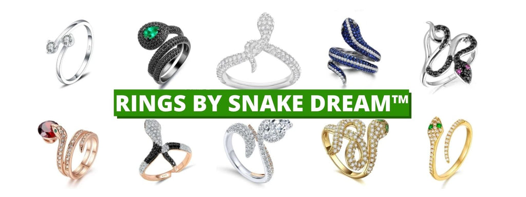 Snake Rings Collection