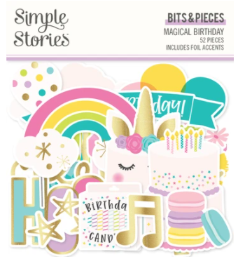 Simple Stories Bits & Pieces Magical Birthday