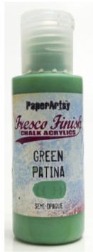 Fresco Finish - Green Patina
