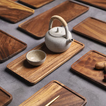 Load image into Gallery viewer, Acacia Wooden Tray