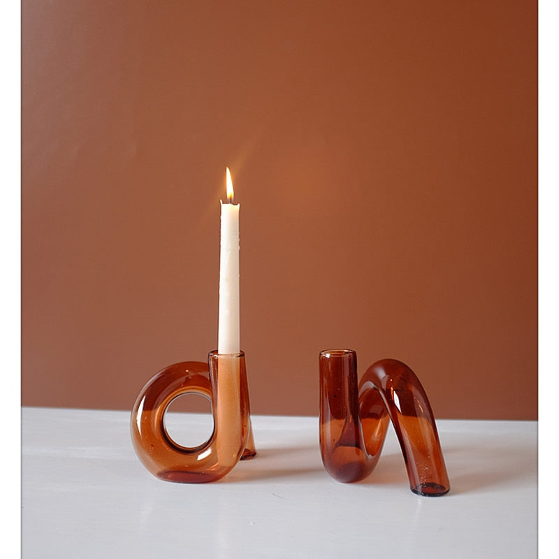 Lily Candlestick Holder