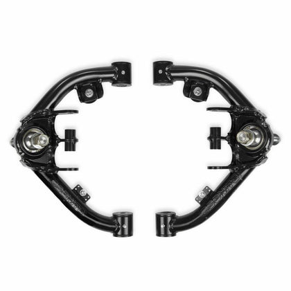 Cognito Uniball Tubular Upper Control Arm Kit With Dual Shock Mounts For 01-10 Silverado/Sierra 1500HD-3500HD 01-13 GM 2500 SUVS 03-09 Hummer H2