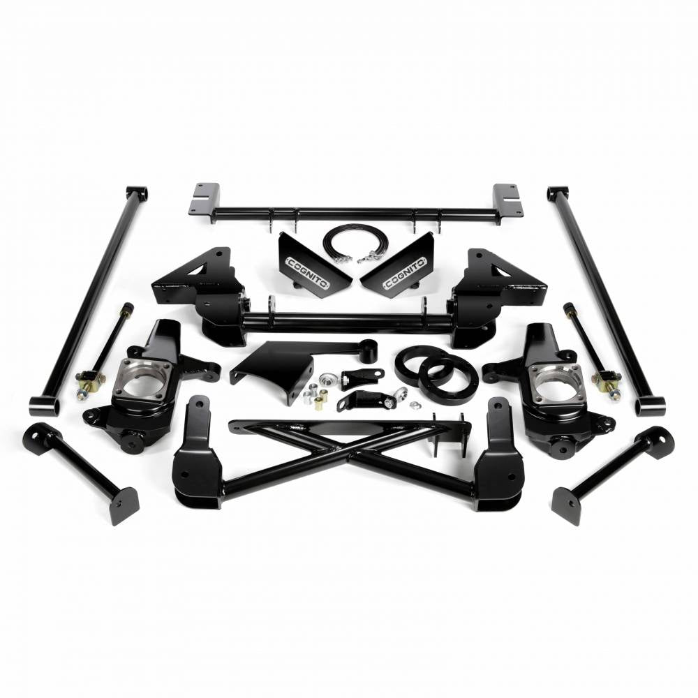 Cognito 7-9 Inch Front Suspension Lift Kit For 07-10 Silverado/Sierra 2500HD/3500HD 4WD 07-13 2500 4WD SUVS Stabilitrak